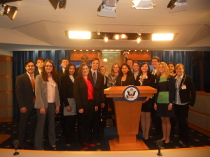 Maxwell students visit the State Department